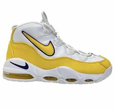 """Nike Air Max Uptempo '95 """"Lakers"""" White Yellow Court Purple With Box CK0892-102"""