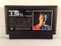 TERMINATOR 2 T2 *NTSC-JAPAN* Nintendo Famicom FC NES *Cart* Authentic