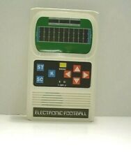 MATTEL: ELECTRONIC FOOTBALL HAND HELD GAME