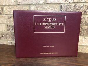 50 Years of US Commemorative STAMPS Partial Collection 1939-1952 Stamp Pages