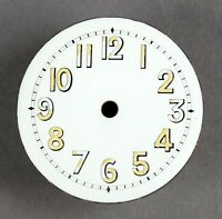 altes Zifferblatt f Taschenuhr Uhr EMAIL Taschenuhrzifferblatt enamel watch dial