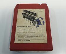 1977 Ford Motor Company Quadrasonic Sound For Today 8 Track Tape Perry Como