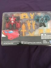 Transformers RID Decepticon Hunter Sideswipe Vs Mini-Con Decepticon Anvil NEW