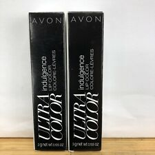AVON ULTRA COLOR INDULGENCE LIPSTICK DAY LILY LOT OF 2 NEW