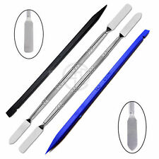 4 Pcs Metal & Plastic Spudger Set Repair Opening Pry For Tablet and Mobile Phone