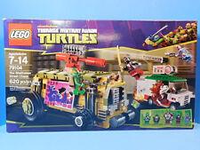 Lego Teenage Mutant Ninja Turtles 79104 The Shellraiser Street Chase 620 pc New