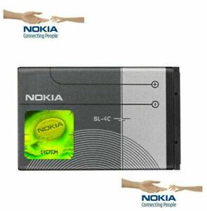 New Nokia BL-4C Battery 860mAh for Nokia 7610 6260 3500 2650 5100 6100 6300 UK