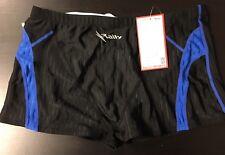 Men's Swim Suit-Rally PPQ 7208 Black/Blue US Size 32 KR Size 100