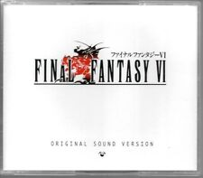 CD MANGA / FINAL FANTASY VI - ORIGINAL SOUNDTRACK O.S.T / COFFRET 3 CD