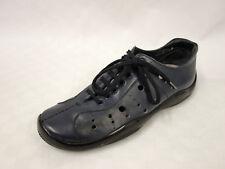 PRADA Leder Schnürer Gr.41 UK7 Sneaker Schuhe Halbschuhe Leather Shoes Blau