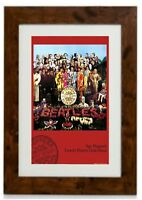 The Beatles - Sgt. Pepper Famed Print by Peter Blake