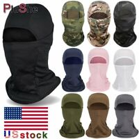 Breathable Tactical Anti UV Neck Shield Face Cover Cycling Outdoor Balaclava Hat