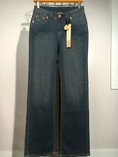 New CHRISTOPHER BLUE Medium Wash LORDES Jeans 2 Cotton Stretch Boot Cut NWT