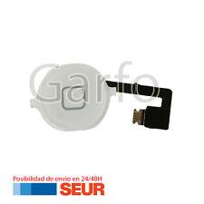 Repuesto Cable Flex Boton Home Plastico Blanco para Iphone 4S 4GS