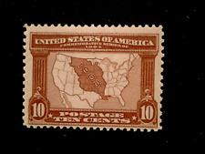 U S stamps Scott 327 ten cent Louisiana purchase issue mint cv 125.00