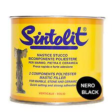 Sintolit Stucco Mastice per Marmo Nero Verticale ml.750
