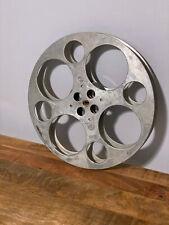 "GOLDBERG VINTAGE 35mm Film app 17"" House Reel Antique Aluminum Metal Wall Decor"