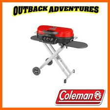 COLEMAN ROADTRIP 285 TABLETOP 3 BURNER GRILL STOVE BBQ CAMPING COOKING