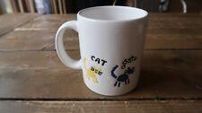 Waechtersbach White Cat Chat Coffee Mug SPAIN