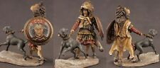 Tin toy soldiers ELITE painted 54 mm   Carthaginian Veteran, with War Dog, 2nd P
