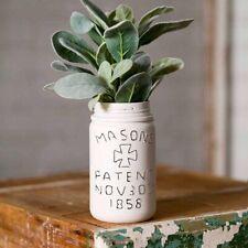 Vintage Mason Jar Vase