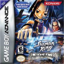 Shaman King: Legacy Of Spirits Sprinting Wolf GBA New Game Boy Advance
