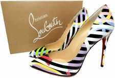 Christian Louboutin  Pigalle Follies  Leather Pointed Toe Pumps Shoes 39.5