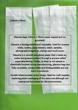 GLASSINE ENVELOPES / PACKETS 210mm x 70mm - MULTI-LISTING FOR QUANTITY