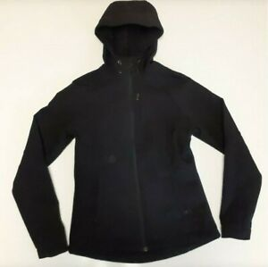 Kirkland Signtaure Women's Hooded Lightweight Jacket (Black, XX-Large)