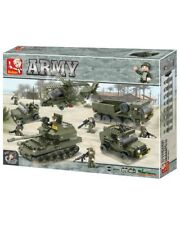 Sluban - B0311 (Land forces) • 996 pieces • Compatible with other brick brands