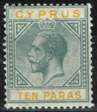 Lightly Hinged George V (1910-1936) Cypriot Stamps