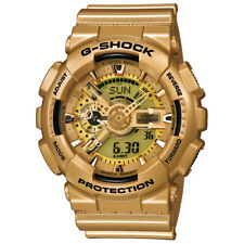 CASIO G-Shock G Shock Armbanduhr  GA-110GB Black Gold Neu & Ovp - GB Gold 1