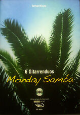 GERHARD KLOYER - monday samba, 6 gitarrenduos, incl. CD