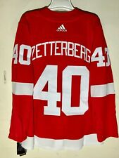Adidas Authentic Adizero NHL Jersey Detroit Red Wings ZETTERBERG red sz 50