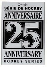 1992-93 O-Pee-Chee 25th Anniversary Inserts #26 Checklist