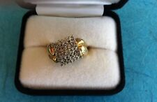 10K Yellow Gold 1 CT. T.W. Women Ring W/ Clear Stones