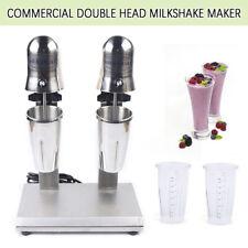 560w Commercial Double Heads Milk Shake Maker Beverage Shaker Machine 110v 60hz