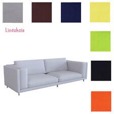 Custom Made Cover Fits IKEA Nockeby Sofa, Three-seat Sofa Cover, Replace Cover