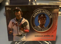 RONALD ACUNA JR. 2020 Topps Series 2  #6/10 Commemorative Medallion Coin SSP