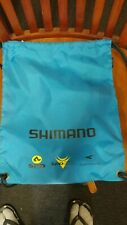 Shimano Logo SPD Cycling Bike Bag Pack Blue