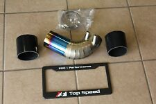 Top Speed Pro-1 TITANIUM Air Intake Pipe Upgrade for Lexus ISF V8 Sedan 08-12