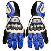 Yamaha Race Pro MotoGP Motorbike Leather Gloves