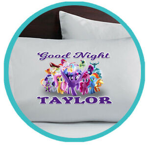 My Little Pony Pillowcase Custom Pillow Case Gift Bedding Bedroom Personalized