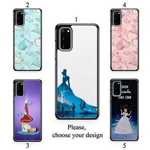 Cinderella case for Galaxy S20 + Ultra S10 S9 S8 S7 Note 20 10 9 8 plus TPU SN