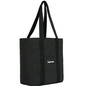 Supreme Canvas Tote WHITE and BLACK SET(FW20) IN HAND READY TO SHIP