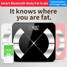 Bluetooth Body Fat Smart BMI Scale Digital Bathroom Wireless Weight Scale #uni
