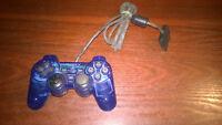 SONY PLAYSTATION 1 PS1 CONTROLLER JOYPAD BLUE #S125