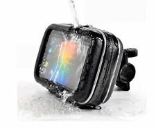 "Waterproof Bike Bicycle Motorcycle Case Mount Holder for Smartphone 5""Garmin GPS"