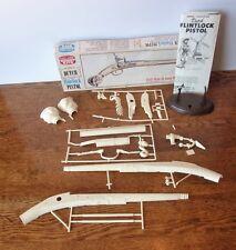Vintage Life-Like Hobby Kits Dutch Flintlock Full Size Pistol In Box