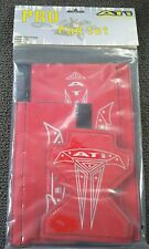 ATI PRO 3 PIECE BMX PAD SET/RED WITH COOL LOGO/LOOKS GREAT!/BRAND NEW!
